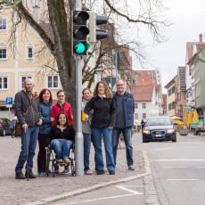 Akustische Signale an Ampeln informieren Fußgänger über das Ampelsignal.