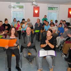 """Das Projekt """"sing mer zam"""" wurde vom Behindertenbeirat ins Leben gerufen."""