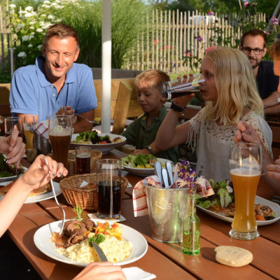 Biergarten in Leutkirch