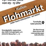 Flyer Hallenflohmarkt Gebrazhofen