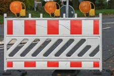 Baustelle / Sperrung Symbolbild
