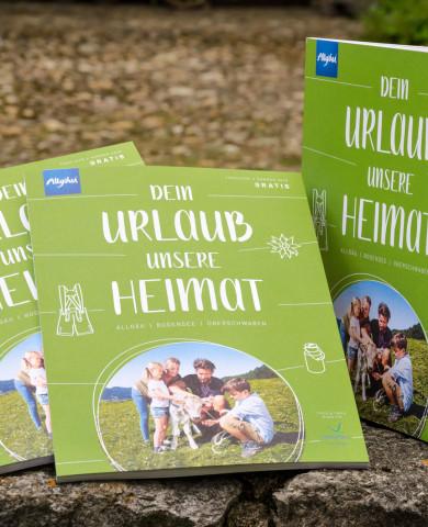 """Die neue Sommerausgabe des Magazins """"Dein Urlaub. Unsere Heimat."""" ab sofort in unserer Touristinfo erhältlich."""