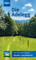 Neue Adelegg Wander- und Radkarte