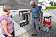 Verschiedene Arbeiten für den Breitbandausbau wurden auch über den Sommer getätigt