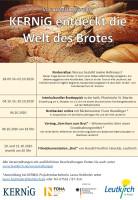 Plakat Kernig entdeckt die Welt der Brote