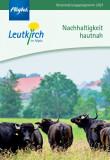 """Veranstaltungsprogramm """"Nachhaltigkeit hautnah"""""""