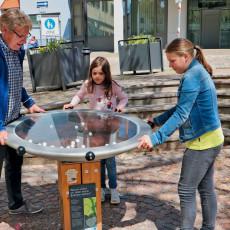 Spieloasen- und Erlebnisweg: Station 1 - Bäcker
