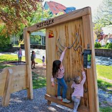 Spieloasen- und Erlebnisweg: Station 5 - Metzger