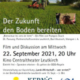 Plakat: Der Zukunft den Boden bereiten