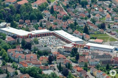 Bahnhofsarkaden Luftbild