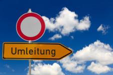 Sperrung / Umleitung