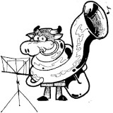 Standkonzert Logo Kuh Alma