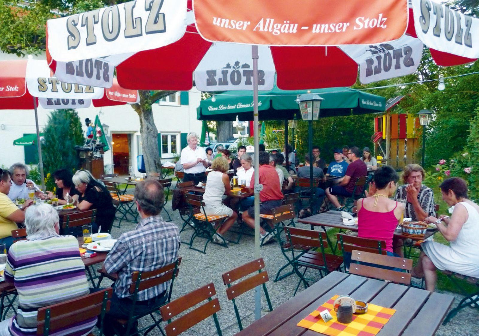 Biergarten Gasthaus Halde