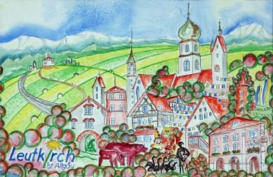 Ritel Horst Kindler - Ansicht von Leutkirch