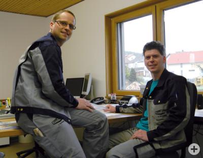 Joachim und Daniel Remlinger