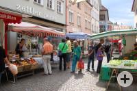 Bauernmarkt Marktstände