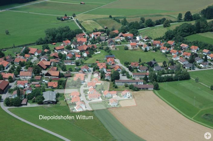 Baugebiet Diepoldshofen Wittum