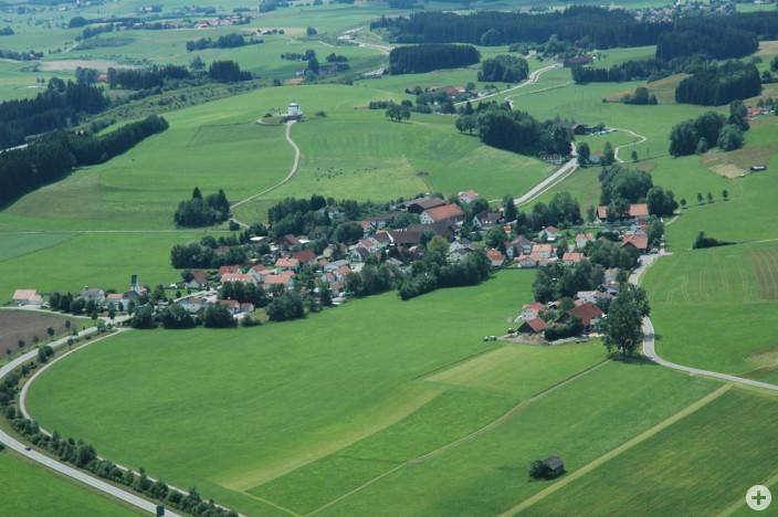 Tautenhofen mit Galluskapelle