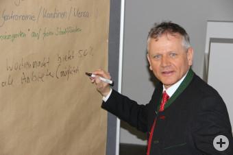 Expertentreffen im Nachhaltigkeitszentrum