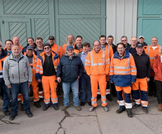 Das Team des Leutkircher Bauhofs