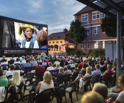 Open-Air Kino in Leutkirch
