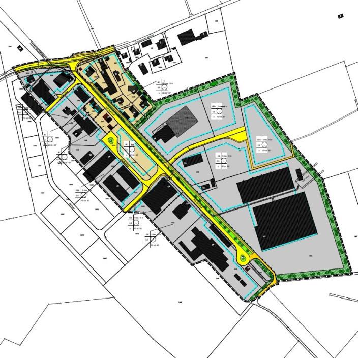 Vorentwurf Änderung Bebauungsplan Friesenhofen Bahnhof