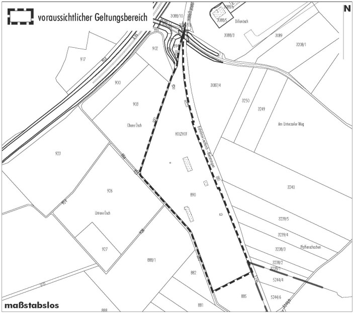 Geltungsbereich Holzhof