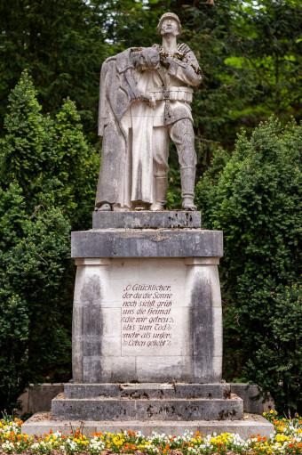 Kriegerdenkmal am Oberen Graben