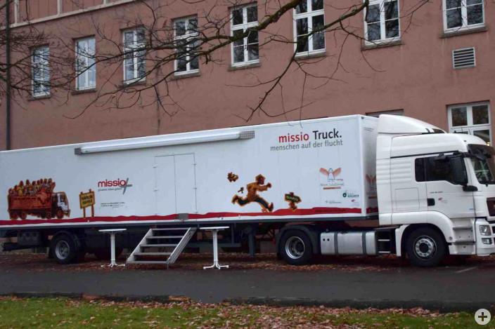 Missio Truck zu Flucht und Vertreibung