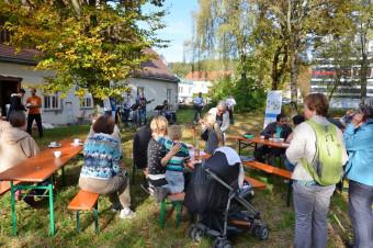 Auf dem Gelände neben der Kunstschule Sauterleute wurde der Mitmachgarten durch eine Bürgerinitiative ins Leben gerufen.