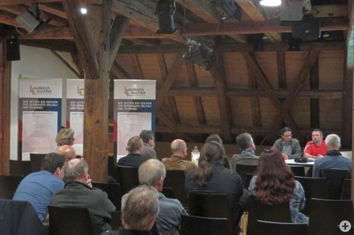 """Leutkirch leuchtet - Gespräch mit den Bloggern von """"Allgäu rechtsaussen"""""""