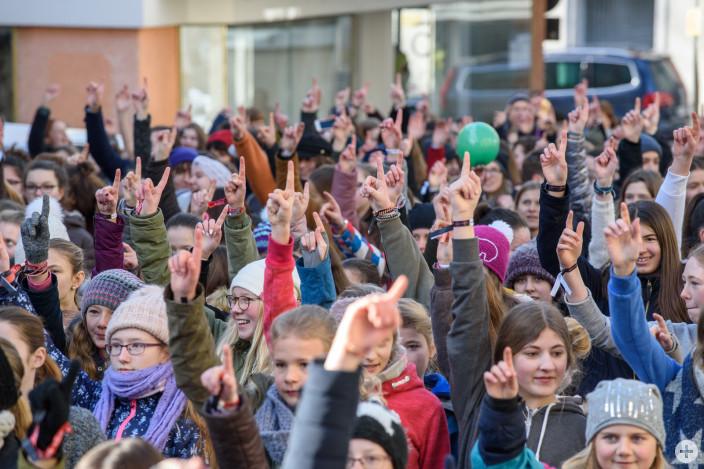 One Billion Rising - Ende der Gewalt gegen Frauen und Mädchen