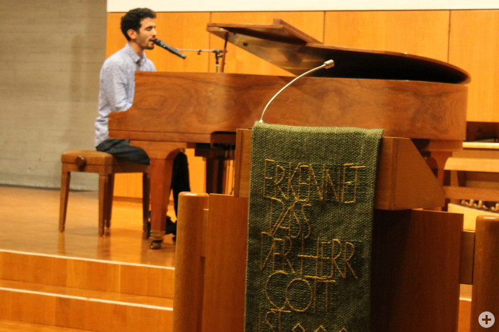 Aeham Ahmad im Konzert