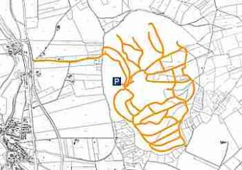 Straßennetz inner Erschließung