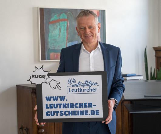 OB Henle ruft zur Unterstützung der Plattform www.leutkircher-gutscheine.de auf