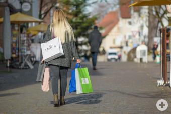 Bummeln & Einkaufen in Leutkirch.