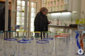 Glasladen in der Glashütte