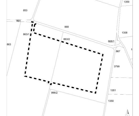 PV-Anlage Heidschachen-Grube FNP-Änderung Geltungsbereich
