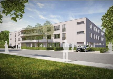 geplantes Pflegeheim