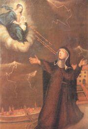 Gemälde der Ursula Haider im Kloster Bicken in Villingen