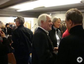 Kilian Lipp im Gespräch mit den Besuchern