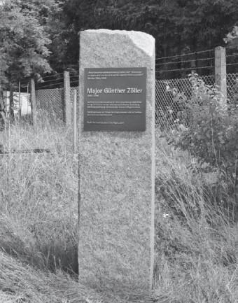Gedenkstele Major Zoller