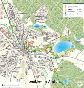 Ortsrunde Leutkirch Wandertrilogie Allgäu