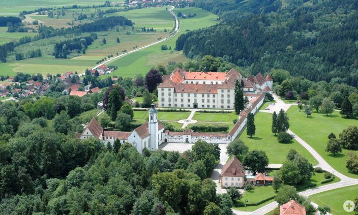 Luftbild Schloss Zeil
