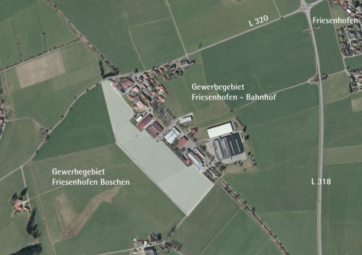GE-Friesenhofen Boschen - Luftbild