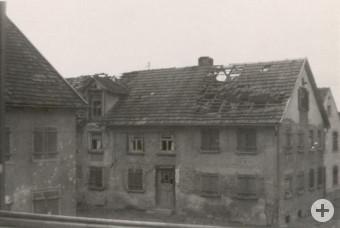 Fliegerangriff Untere Vorstadt 1945
