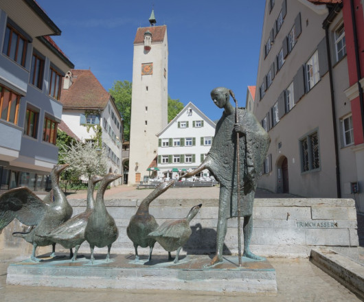 Gänselislbrunnen und Bockturm