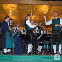 Stadtkapelle Auftritt beim Kinderfest