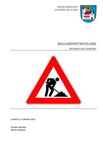 Baulandbericht 2015