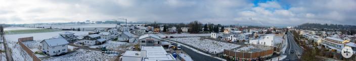 Baugebiet Isnyer Straße West - Beim Marienhof im November 2015